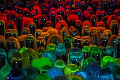 Installation: Colourful wigs / Bunte Perücken (Lens Daemmi) Tags: berlin playground deutschland photography olympus wigs colourful coloured omd 2014 bunte perücken em10 opernwerkstätten