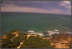 Trek Along Great Ocean Road (florahaggis) Tags: greatoceanroad victoria australia aireysinlet splitpointlighthouse shipwreckcoast otways gibsonsteps lochardgorge bassstrait seaside cliffs canon