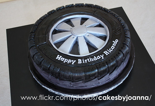 Tire Cake Wheel Cake A Photo On Flickriver
