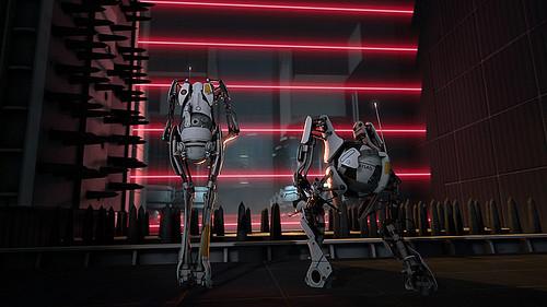 portal 2 atlas robot. Portal 2 robots ATLAS