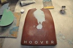 "Vintage Hoover Vaccum Hood Repair • <a style=""font-size:0.8em;"" href=""http://www.flickr.com/photos/85572005@N00/5559517096/"" target=""_blank"">View on Flickr</a>"