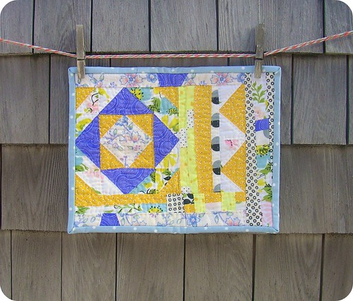 frances mae's mini quilt