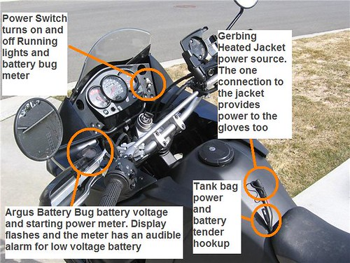 2008 klr 650 – basic electrical accessories mod - Kawasaki