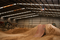 Jaxon O'Toole (James Patterson Photography) Tags: jump bmx shed front jaxon dirt flip otool
