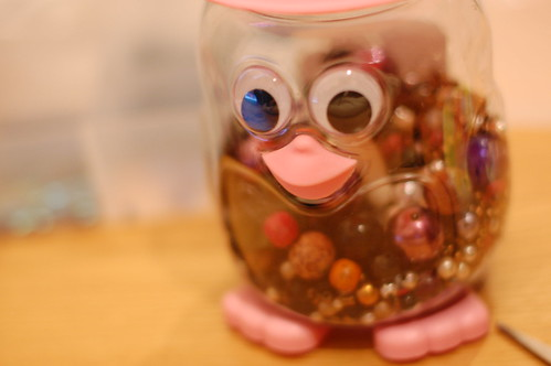 Owly the bead jar