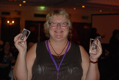 ARRC 2011: Anna Campbell, Winner of the Australian Romance Readers Award for Favourite Australian Author 2010 and Favourite Historical Romance 2010
