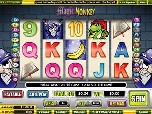 Magic Monkey slot game online review