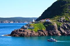 St. John's, Newfoundland (Sunshine. Smiles. Snaps.) Tags: lighthouse boat stjohns