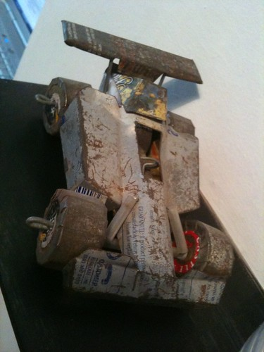 Scrap Tin Car, Cape Flats, Cape Town