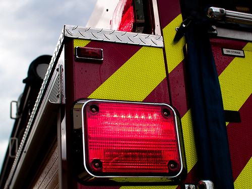 Firetruck Flashing Tail Light