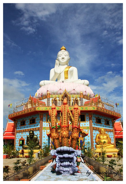 Temple at Hatyai, Thailand