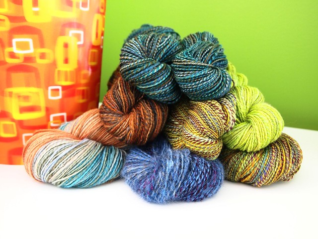 March handspun yarn
