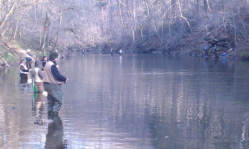 Wissahickon Creek: Trout Season