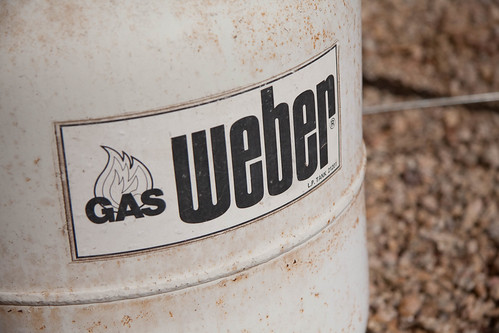 Weber's 1970 Gas Barbeque Kettle - Tank