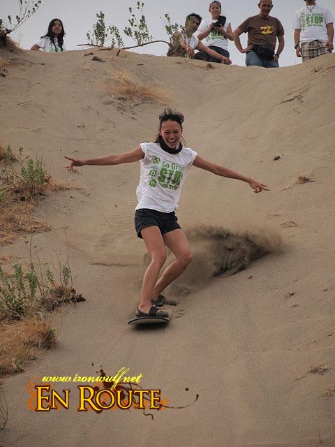 Isladida Sandboarding