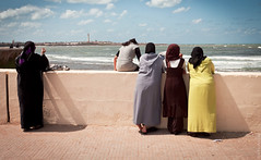 Something About Moroccan Women (thedot_ru) Tags: travel sea woman girl lady geotagged pier women morocco canon5d moroccan 2010