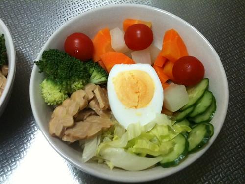 朝食サラダ(2011/4/8)