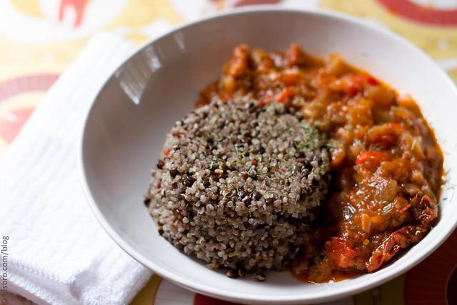 Quinoa & Lentils for Dinner