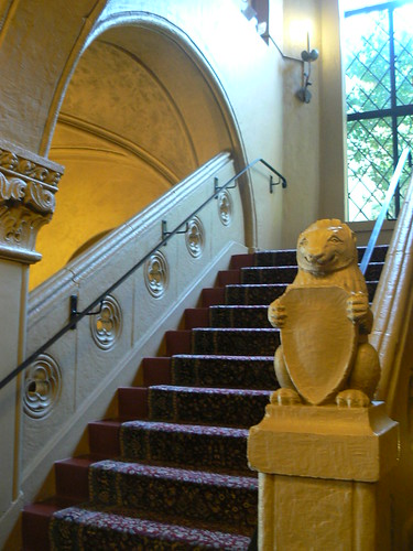 Stairs, Berkeley City Club