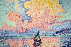 Paul Signac - Antibes, The Pink Cloud at Boston Museum of Fine Arts (mbell1975) Tags: pink cloud art boston museum painting ma paul mfa gallery museu massachusetts fine arts muse musee m impressionism museo mass impression antibes impressionist muzeum the signac mze museumuseum
