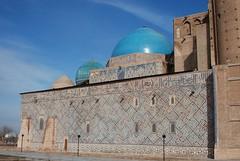 Mausoleum of Khodja Ahmat Yasaui (upyernoz) Tags: mausoleum dome kazakhstan turkistan turkestan khoja  ahmat      mausoleumofkhojaahmatyasawi mausoleumofkhojaahmatyasaui