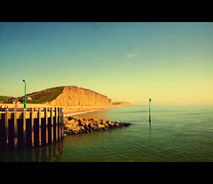 Shhh... (Manin The Moon) Tags: ocean sea summer water weather happy coast spring warm peace warmth peaceful tranquility calm serenity dorset heat april jurassic channel westbay eastcliff vanagram