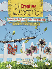 Book Review: Creative Bloom with fabric and wire