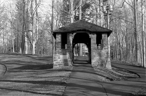 Archway to Hamilton College, Clinton NY