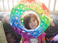 Airilei  & Great Rhombicosidodecahedron (Origami Tatsujin 折り紙) Tags: art colors paperart origami geometry great multicolored papiroflexia papercraft polyhedra modularorigami rhombicosidodecahedron geometricbeauty geometricart colorfulart tetrahedralsymmetry