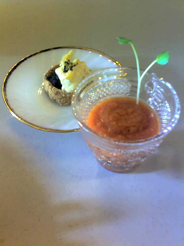 Thai Inspired Raw Soup & Dessert
