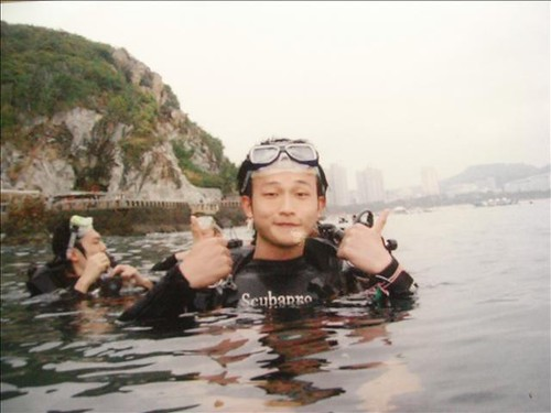 03/12/2008 海南三亞遊之第二天-潛水基地(大東海)更新家許照