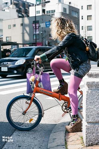 関西人の自転車