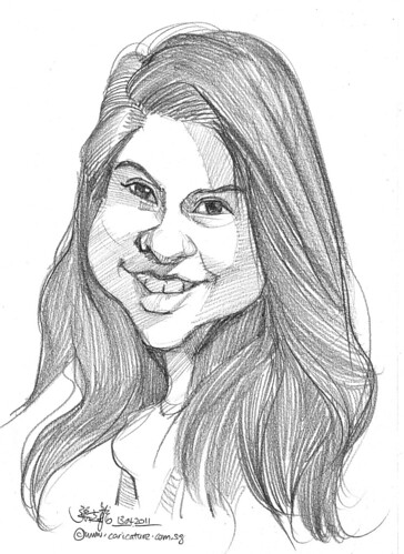 caricature in pencil - 63