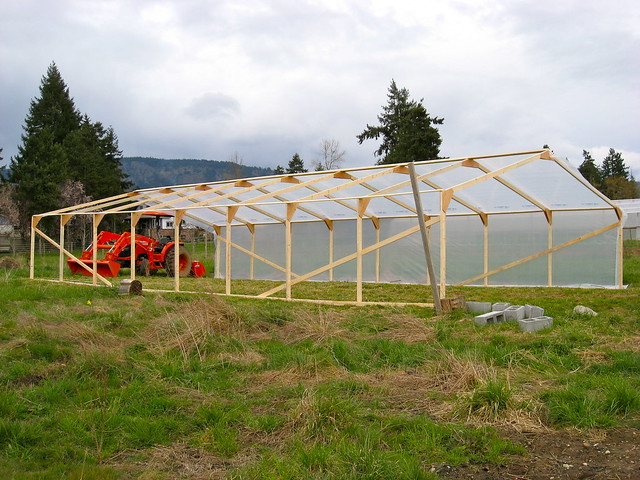 Half built greenhouse 02