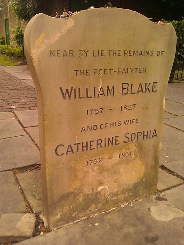 William Blake's gravestone