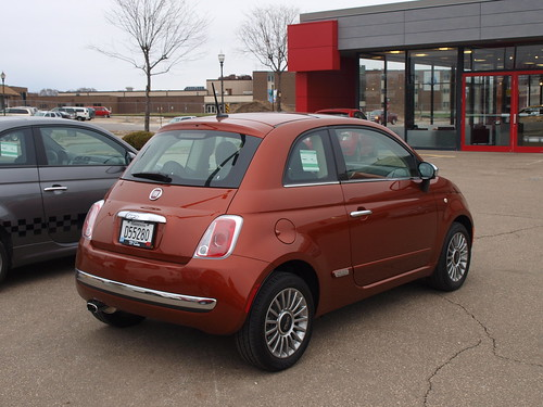 2012 Fiat 500 9