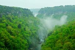 Little River from Wolf Creek Overlook (the waterfallhunter) Tags: mist spring littlerivercanyon lookoutmountain littleriver dekalbcounty fortpaynealabama wolfcreekoverlook adamsburgalabama