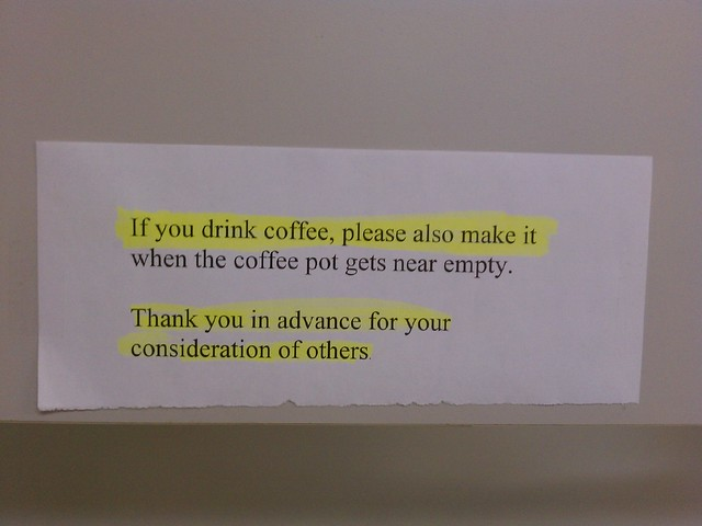 Sign at Work