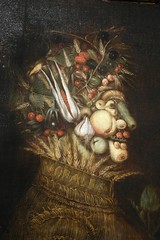 Fruitman (Peter L Barker) Tags: painting 16century fruitman photoshopchalenge