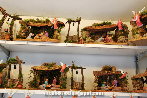 miniatures of birth of christ