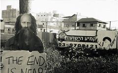 THE END IS NEAR (Valentine Kleyner) Tags: street zorki city bw film israel kodak rangefinder jupiter