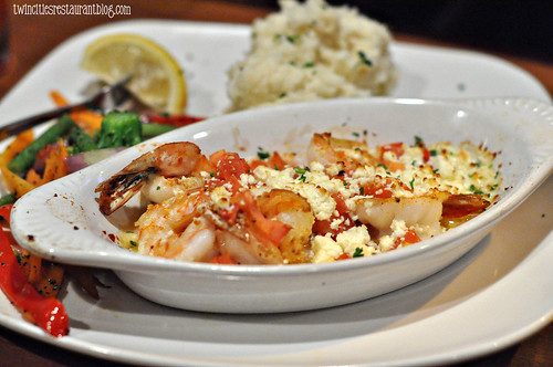 Grecian Shrimp at Shorewood Bar & Grill ~ Fridley, MN