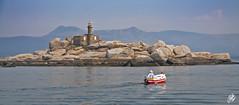 Isla Ra (Io Bee) Tags: lighthouse isla illa ra faros dorna arousa faris europeanlighthouses farora faroseuropeos