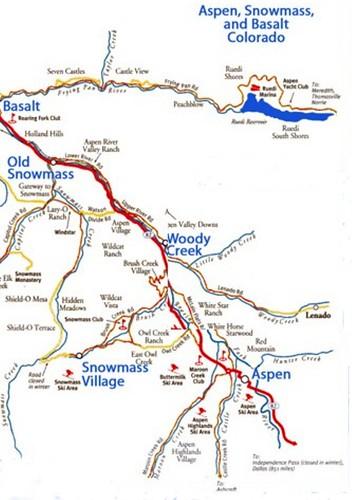 Mapa de la zona esquiable
