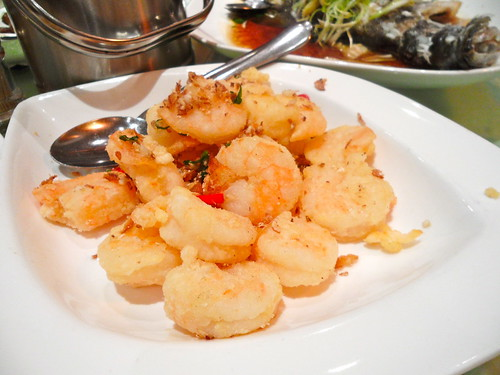 Emperor's Chilli Pepper Prawns