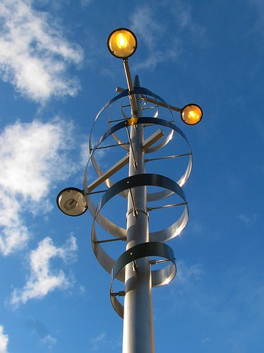 Alien lamp aka the Belfast Squiggle