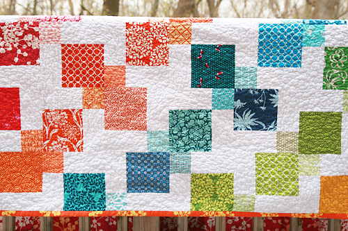 Kaleidoscopic Kites ~ Fresh Lemons Modern Quilts