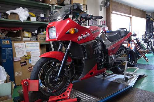 GPZ900R 車検 by Motorcycle Workshop J.BOY