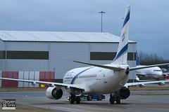 4X-EKC - 29959 - El Al Israel Airlines - Boeing 737-858 - 110114 - Luton - Steven Gray - IMG_7874