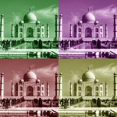 Warhol Taj Mahal